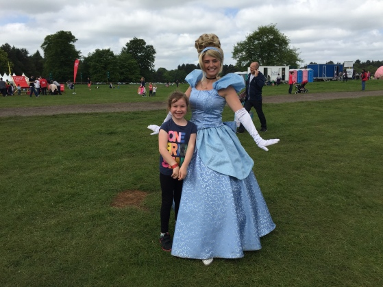 Meeting Cinderella at Geronimo Festival