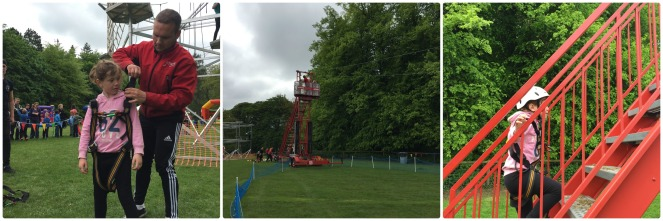 Zip Wire at Geronimo Festival